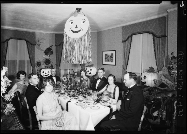 Halloween party, 1928. | Image: courtesy of USC.