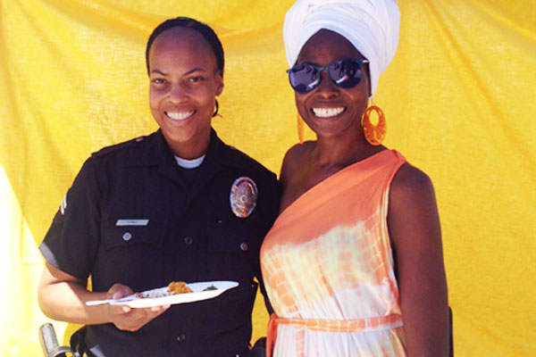 Sister Modupe, Chef / Owner (Right) I Photo Courtesy of SoLA Food Co-Op.