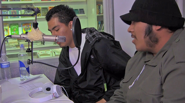 Youth host a radio show on restorative justice