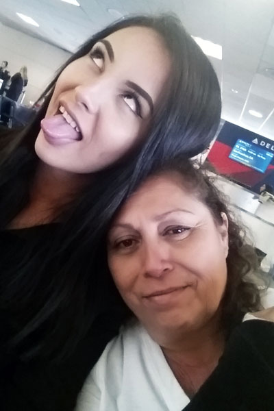 The mother and daughter duo have become one of the most outspoken activists for trans youth and families. Photo courtesy of the Barba family.