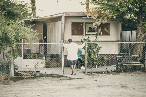 Over the years, residents of mobile home parks such as St. Anthony, have mobilized to improve the quality of life of their communities.I Photo by Christian Mendez.
