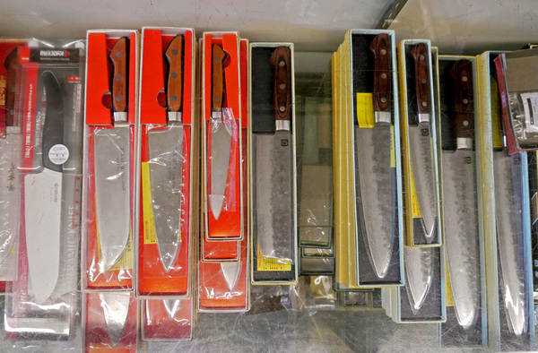 Anzen carries a selection of high end Japanese chef's knives