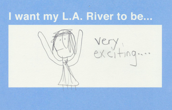 A postcard submission from a visitor at Cypress Park Library. View more postcards at www.mylariver.org