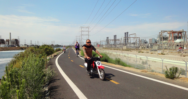 Santa Fe Dam To Seal Beach Biking The San Gabriel River Path Kcet
