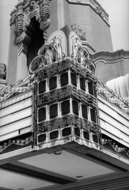 Details, Leimert Theater, 1968 | Security Pacific National Bank Collection , courtesy of the Los Angeles Public Library