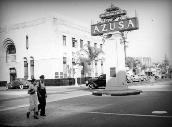 City of Azusa, ca. 1937 | Herman J. Schultheis Collection, Courtesy of the Los Angeles Public Library