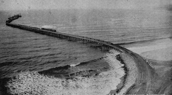 Projected site of the Port of Los Angeles, near Santa Monica, ca. 1893 | Security Pacific National Bank Collection, Los Angeles Public Library