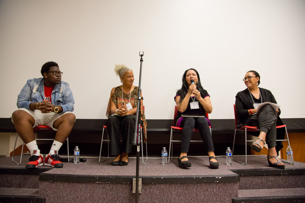 Arts and Culture panel discussion included playwright Josefina Lopez