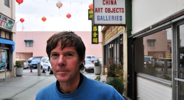 Gallery Owner Steve Hansen