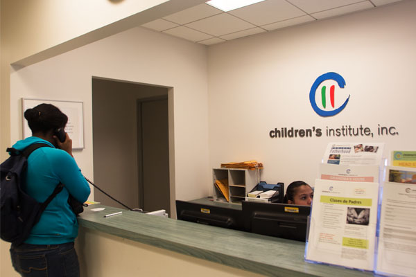The Children's Institute offers health and support services to families throughout Los Angeles and Long Beach. Photo by Jonathan Olivares.