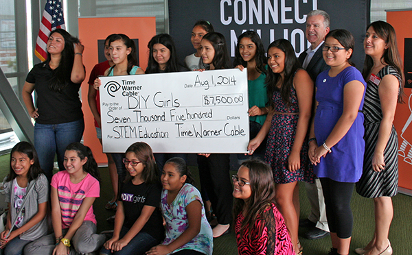 Community and corporate support allows DIY Girls to continue and grow