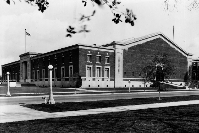 The California National Guard Armory