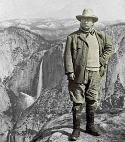Roosevelt at Yosemite