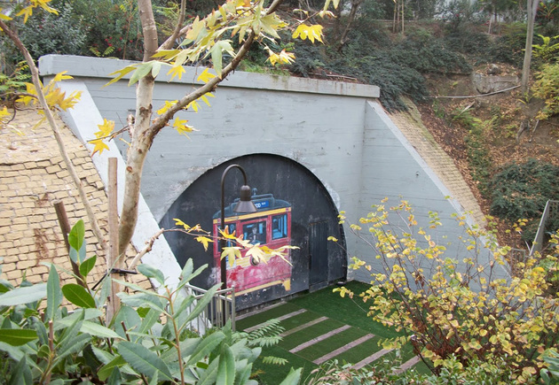 The Small Locked Park Containing What Remains Of Belmont Tunnel And Toluca Substation Yard Is Nestled In A Deep Pock Between Decay So Called