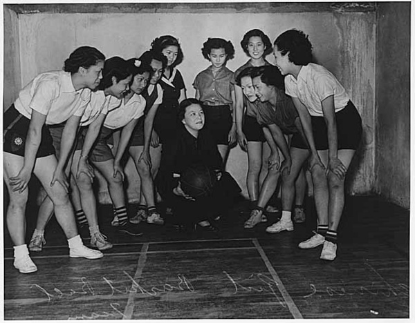 Chinese American women's basketball team in Seattle