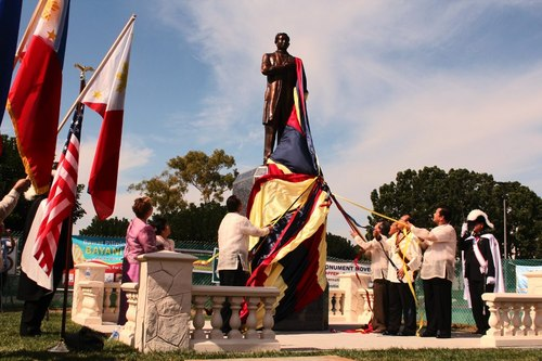 Carson is home to a large Filipino American population and a monument of Filipino national hero Jose Rizal, the first of its kind in the nation | Photo: pinoywatchdog.com
