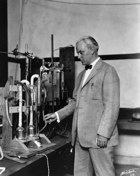 Dr. Robert A. Millikan, President of the California Institute of Technology in Pasadena, ca. 1930 | Courtesy of the Los Angeles Public Library