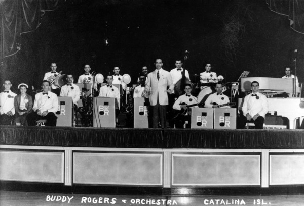 Buddy Rogers and his Orchestra at the Catalina Ballroom, ca. 1935 | Security Pacific National Bank Collection, Los Angeles Public Library