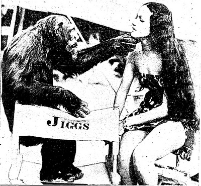 Jibbs, Chimpanzee Actor | Los Angeles Times, March 2, 1938