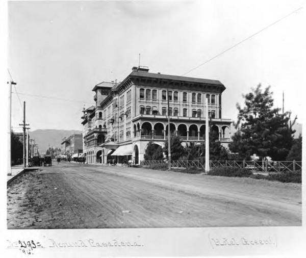 Hotel Green, 1896 | Adam Clark Vroman Collection, Pasadena Public Library