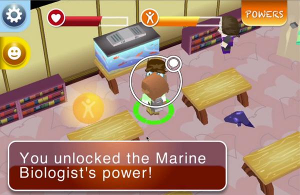 Screen cap from 'FutureBound' game