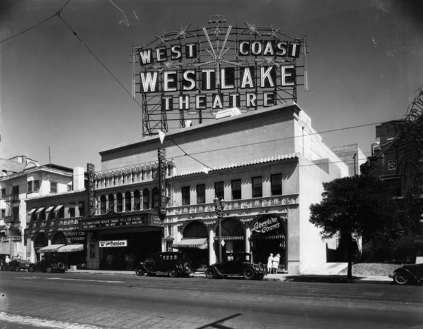 Westlake Theater, ca. 1940 | Security Pacific National Bank Collection, Los Angeles Public Library