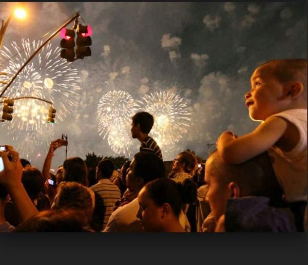 Fireworks at La Puente Park