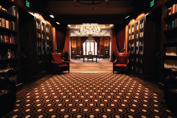 Newly renovated club lounge | Photo: Courtesy of the L.A. Athletic Club