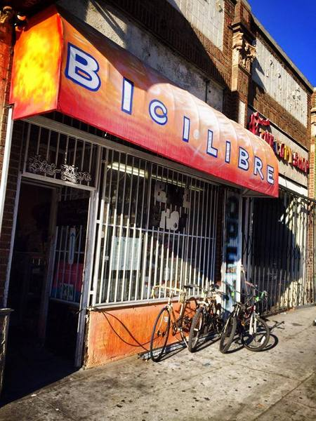 Bicilibre in Downtown L.A. | Photo: Bicilibre Facebook