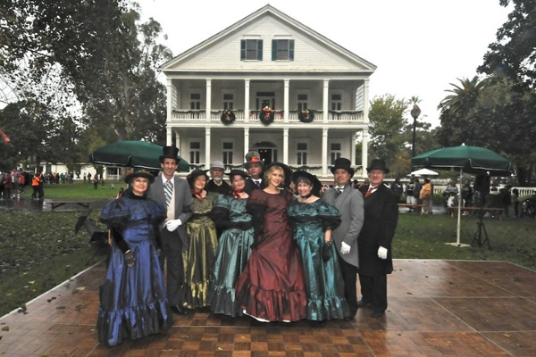 Holiday festivities at the Banning House | Photo: Property of Friends of Banning Museum