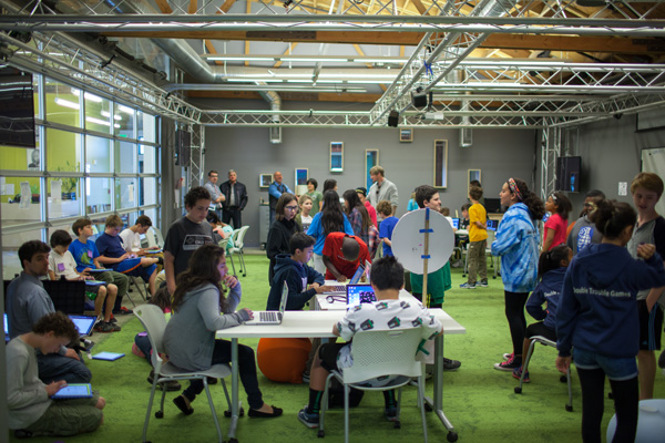 Sixth-grade students create mock gaming companies and beta-test their wares at PlayMaker School in Los Angeles. | Photo: G. Waigand