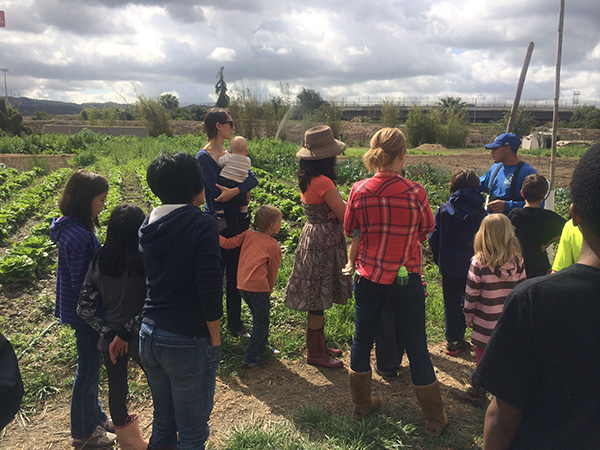 Earthworks Community Farm is currently getting El Monte and South El Monte residents re-acquainted with growing their own food. Photo courtesy of Earthworks Community Farm.