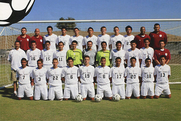 Juan Sanchez and his team at Mt. SAC, 2007