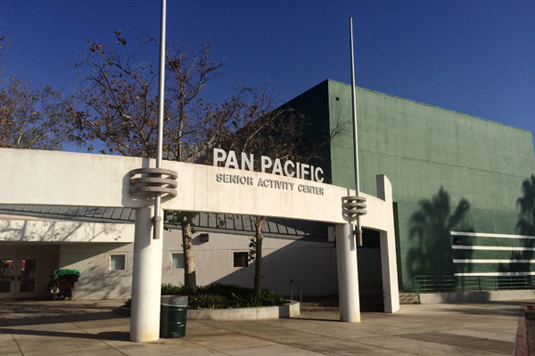 Pan Pacific's current architecture pays tribute to original building. Photo: Hadley Meares.