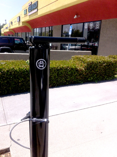 Bicycle Repair Station in Eagle Rock