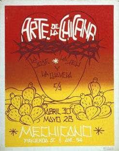 Joe Rodriquez (Director of Mechicano). Arte De La Chicana. Figueroa Street and Avenue 54.
