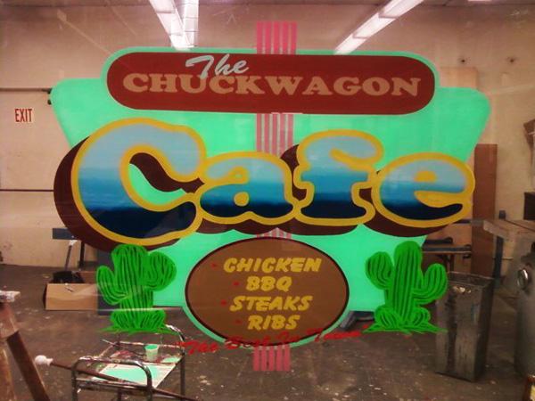 """Chuck Wagon Cafe"""