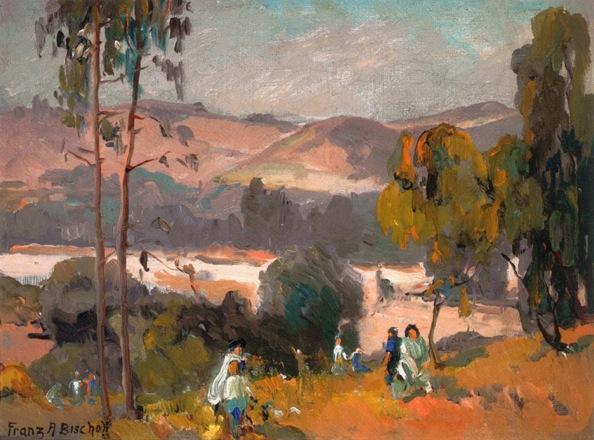 ''Picnic in the Arroyo'' Franz Bischoff