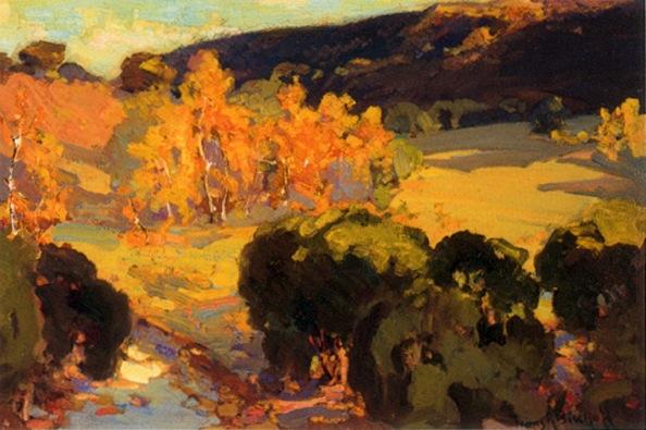''Arroyo Landscape'' Franz Bischoff