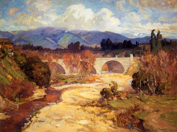 ''Arroyo Seco Bridge'' Franz Bischoff, 1915