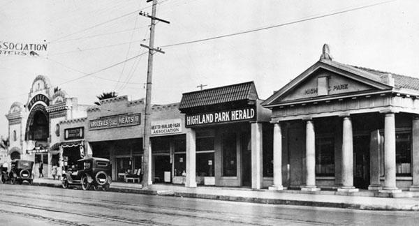 Figueroa Street in the 1930s