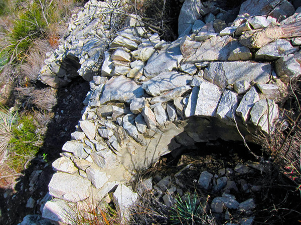 Remains of the Christ Chapel arches at Switzer-land. | Photo: Daniel Medina
