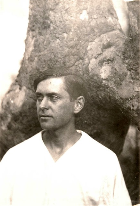 Arthur Farwell was a composer and music publisher who worked with Lummis in collecting and publishing Native American melodies and songs. 1904. | Photo by Charles Lummis courtesy of The Autry National Center