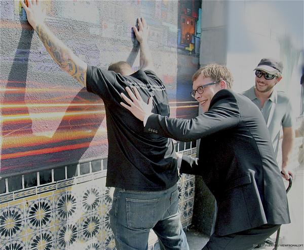 Saber, Tanner Blackman, and Daniel Lahoba I Photo: Ed Fuentes / viewfromaloft