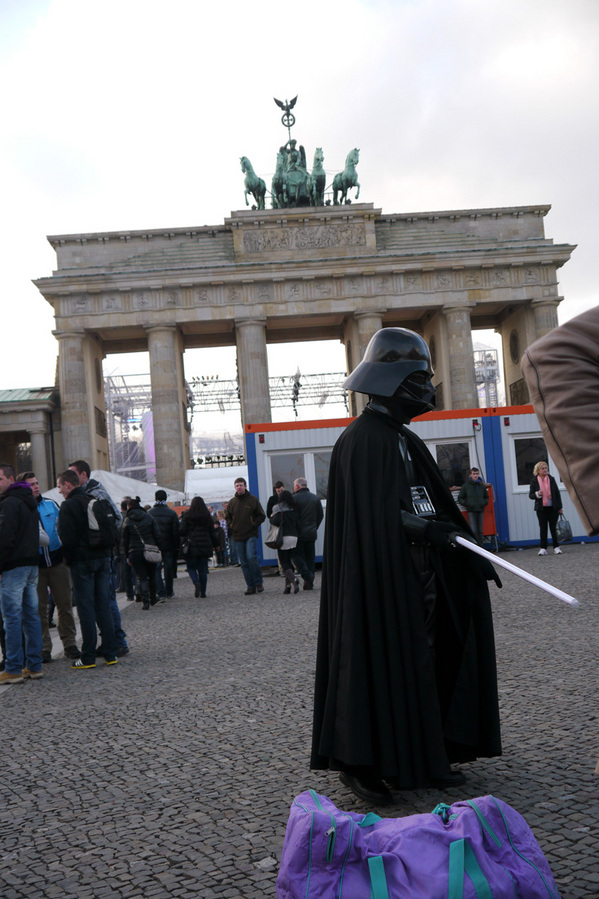 Dark Lord at Brandenburg Gate