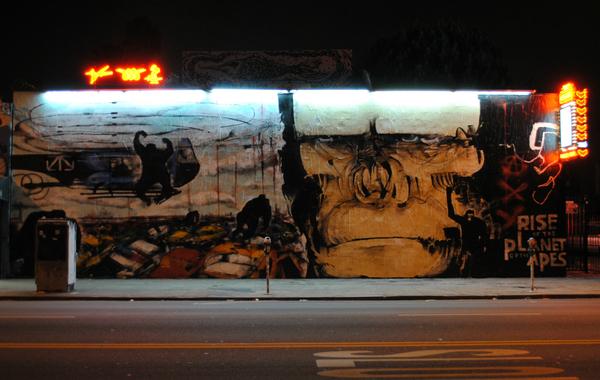 Ape mural on Melrose I  Courtesy of Birdman Photos