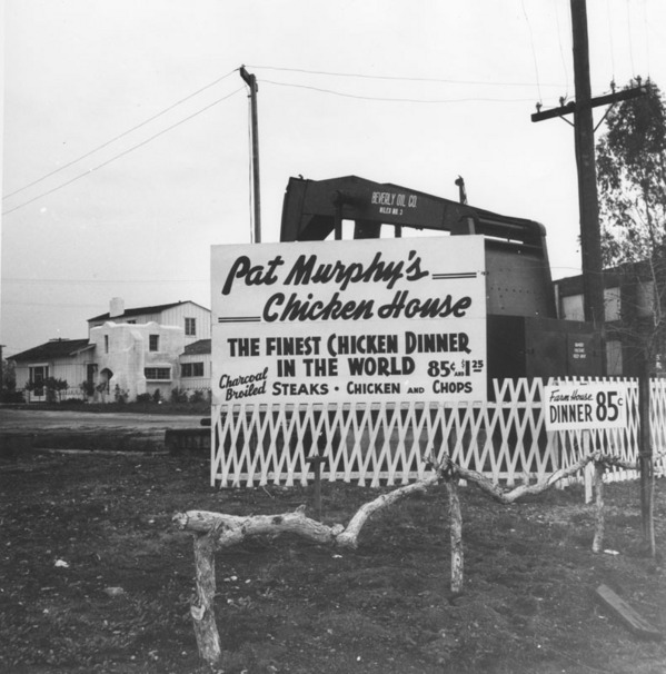 Advertisement for Pat Murphy's Chicken House