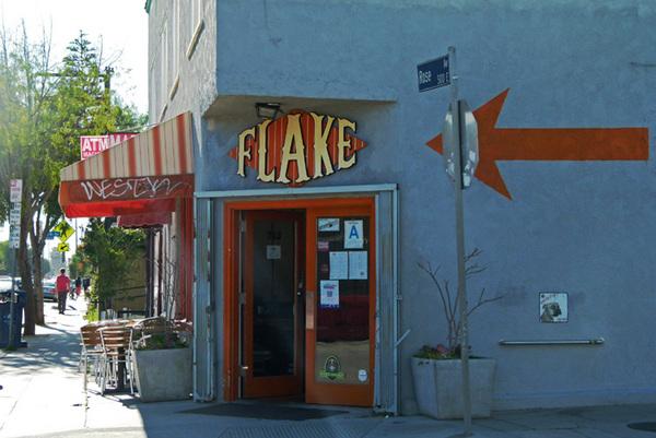 Flake on Rose Ave.