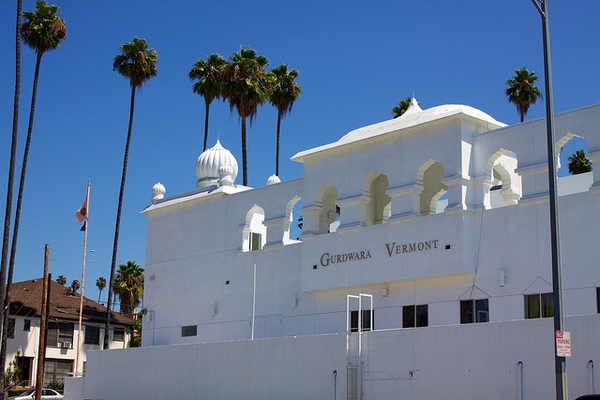 Gurdwara Vermont in Los Feliz | Photo by brianandjaclyn used under a Creative Commons license