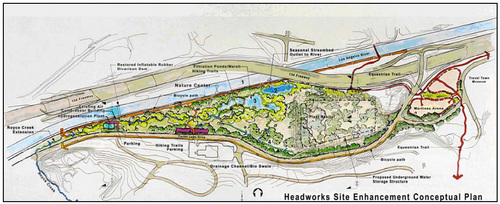 One of several plans being considered. Image via the LADWP. Click to enlarge image.
